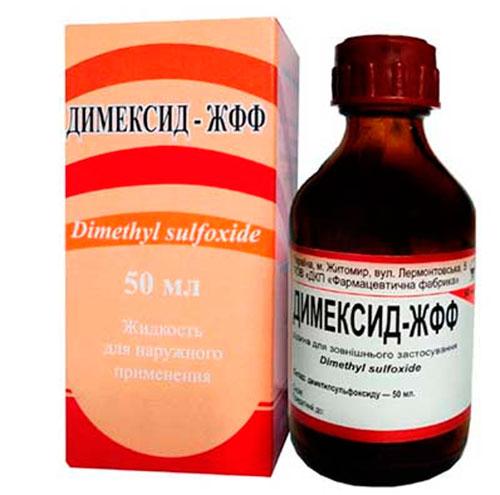 лечение простатита димексидом